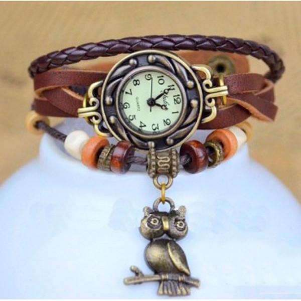 CL Жіночі годинники CL Owl Brown