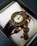 CL Жіночі годинники CL Owl Brown, фото 4