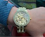 Geneva Женские классические кварцевые часы Geneva Gold, фото 7