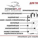 Рукавички для кроссфіту PowerPlay 2076 Чорні S SKL24-144101, фото 5