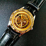 Winner жіночий годинник скелетон механічні Winner Lux 1357 з автопідзаводом, фото 2