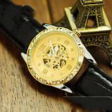 Winner жіночий годинник скелетон механічні Winner Lux 1357 з автопідзаводом, фото 4