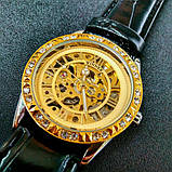 Winner жіночий годинник скелетон механічні Winner Lux 1357 з автопідзаводом, фото 5