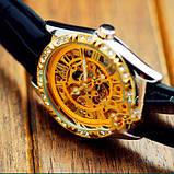 Winner жіночий годинник скелетон механічні Winner Lux 1357 з автопідзаводом, фото 6