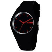 Skmei Жіночі годинники Skmei Rubber Black 9068