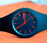 Skmei Жіночі спортивні водостійкі годинники Skmei Rubber Black II 9068, фото 4