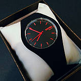 Skmei Мужские спортивные водостойкие часы Skmei Rubber Black II 9068, фото 5
