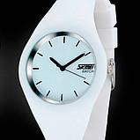 Skmei Жіночі годинники Skmei Rubber White II 9068C, фото 4