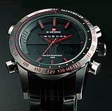 Naviforce Мужские спортивные кварцевые часы Naviforce Army Black NF9024, фото 5