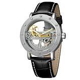 Forsining Жіночі годинники Forsining Air II Silver, фото 2