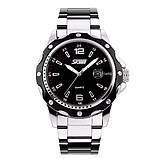 Skmei Спортивні чоловічі наручні годинники Skmei Robby Steel 0992S, фото 3