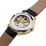 Forsining Мужские классические механические часы Forsining Rich Black 1120, фото 8