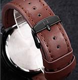 Naviforce Мужские классические кварцевые часы Naviforce Advanter Brown 1064, фото 5