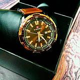Naviforce Мужские классические кварцевые часы Naviforce Advanter Brown 1064, фото 6