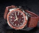 Naviforce Мужские классические кварцевые часы Naviforce Advanter Brown 1064, фото 7