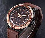 Naviforce Мужские классические кварцевые часы Naviforce Advanter Brown 1064, фото 9