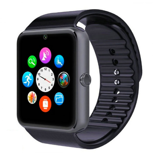 UWatch Смарт часы Smart GT08 Black