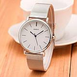 Geneva Жіночі годинники Geneva Steel Silver, фото 3