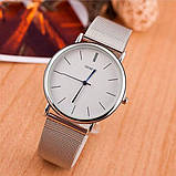 Geneva Жіночі годинники Geneva Steel Silver, фото 4