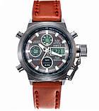 AMST Чоловічі спортивні кварцові годинники AMST Mountain Brown 1233, фото 2