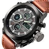 AMST Чоловічі спортивні кварцові годинники AMST Mountain Brown 1233, фото 3
