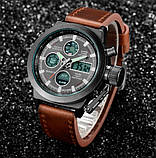 AMST Чоловічі спортивні кварцові годинники AMST Mountain Brown 1233, фото 6