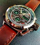 AMST Чоловічі спортивні кварцові годинники AMST Mountain Brown 1233, фото 9