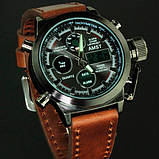 AMST Чоловічі спортивні кварцові годинники AMST Mountain Brown 1233, фото 10