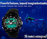 Skmei Чоловічі годинники Skmei Black Shark 1016, фото 5