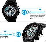 Skmei Чоловічі годинники Skmei Black Shark 1016, фото 8