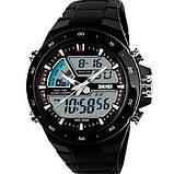 Skmei Спортивні чоловічі наручні годинники Skmei Black 1016, фото 2