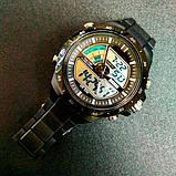 Skmei Спортивні чоловічі наручні годинники Skmei Black 1016, фото 4