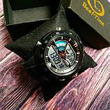 Skmei Спортивні чоловічі наручні годинники Skmei Black 1016, фото 6