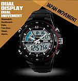 Skmei Спортивні чоловічі наручні годинники Skmei Black 1016, фото 7