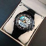 Skmei Спортивні чоловічі наручні годинники Skmei Black 1016, фото 9