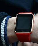 UWatch Смарт годинник Smart GT08 Red, фото 4