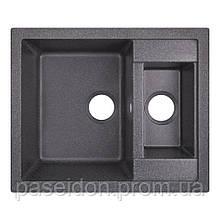 Кухонная мойка Lidz 615x500/200 BLA-03 (LIDZBLA03615500200)