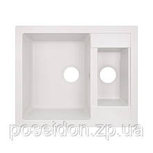 Кухонна мийка Lidz 615x500/200 WHI-01 (LIDZWHI01615500200)