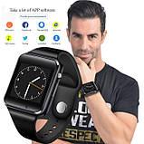 UWatch Розумні смарт годинник з сім-картою 2018 року Smart A1 Turbo UWatch 5015 Black, фото 5