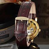 Winner Женские часы Winner Gold  Brown, фото 6