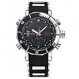 Weide Мужские спортивные кварцевые часы Weide Kasta Black 1239, фото 2