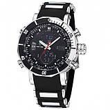 Weide Мужские спортивные кварцевые часы Weide Kasta Black 1239, фото 4