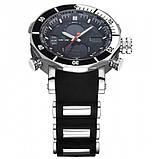 Weide Мужские спортивные кварцевые часы Weide Kasta Black 1239, фото 5