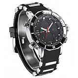 Weide Мужские спортивные кварцевые часы Weide Kasta Black 1239, фото 6