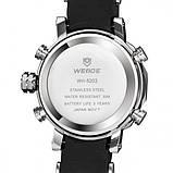 Weide Мужские спортивные кварцевые часы Weide Kasta Black 1239, фото 7