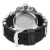 Weide Мужские спортивные кварцевые часы Weide Kasta Black 1239, фото 8