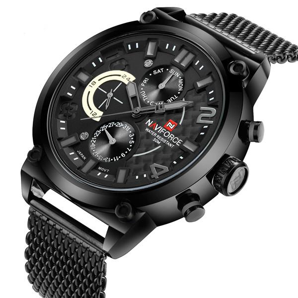 Naviforce Мужские спортивные водостойкие часы Naviforce Brutto NF9068S 1298