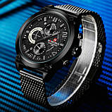 Naviforce Мужские спортивные водостойкие часы Naviforce Brutto NF9068S 1298, фото 3