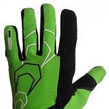 Велорукавички PowerPlay 6556 А Зелені XL SKL24-144282, фото 2