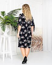 Платье 650 черное аист (#173 с005) 56, фото 3